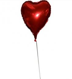 uçan kalpli balon